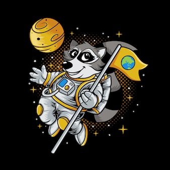 Raccoon space