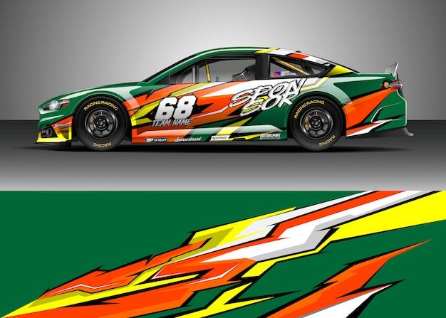 Race car decal designs
