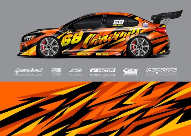 Race car livery illustrations