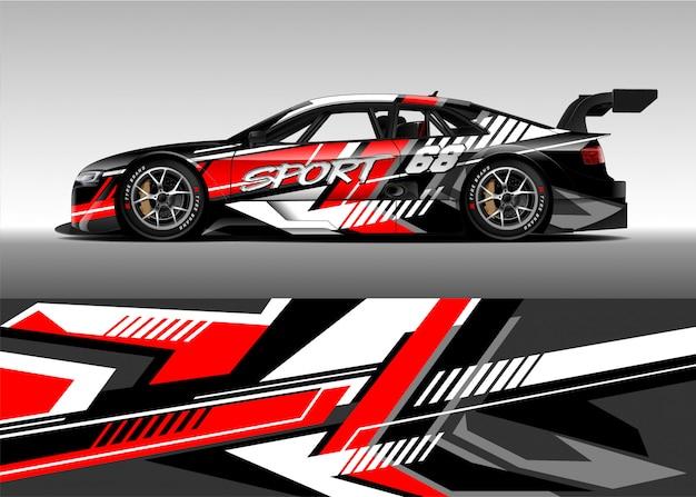 Race car for rally