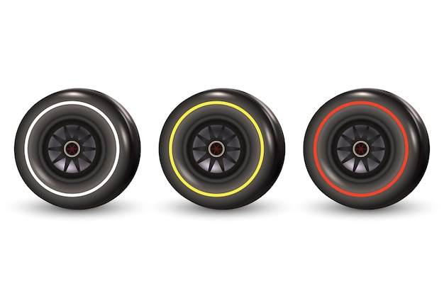 Race car tyre