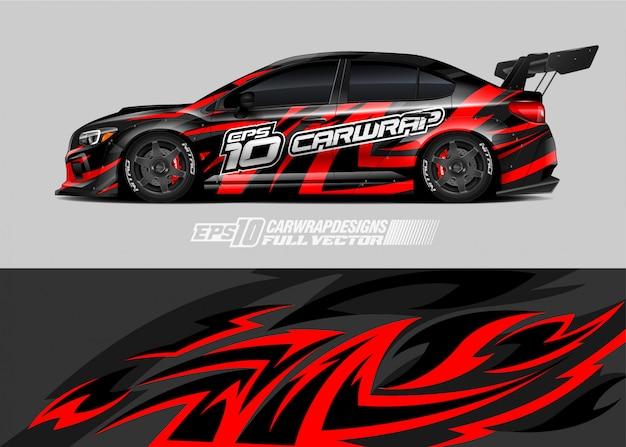 Race car wrap designs