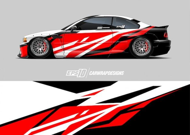 Race car wrap