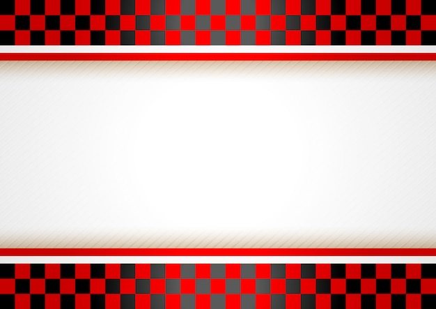Race horizontal background