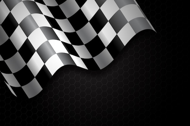 Гоночный клетчатый флаг фон