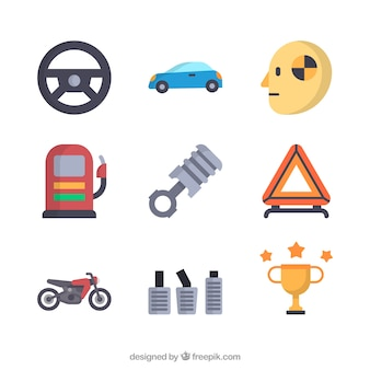 Corsa icon set