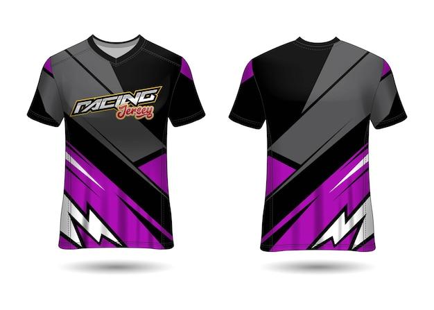 Racing jersey template design