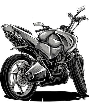 Racing motorcycle modification