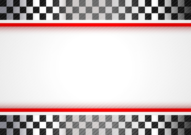Racing red background