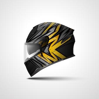 Наклейка на гоночный спортивный шлем и дизайн виниловых наклеек для спортивных автомобилей и мотоциклов.