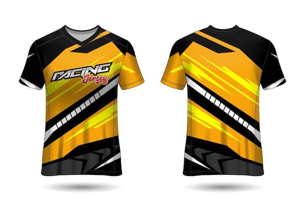 Racing sport jersey