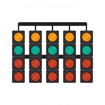 レーシング信号灯のシンボル