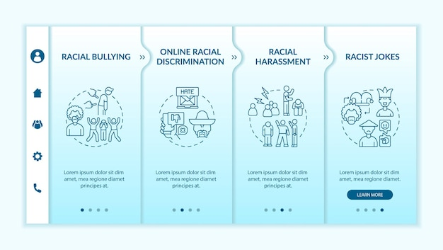 Racism in society onboarding template