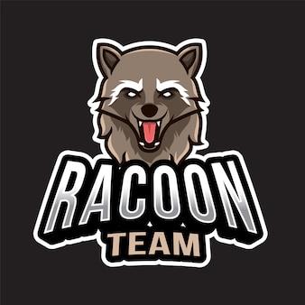 Racoon esportロゴ