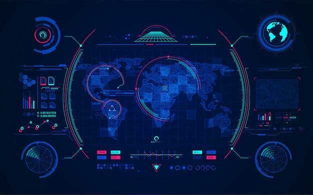 Radar terrain