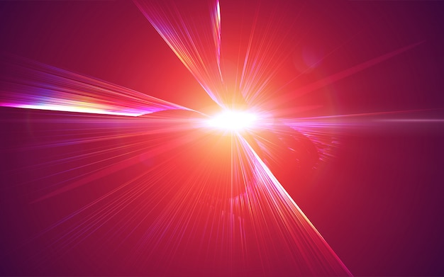 Radial bursting rays. background with explosion. shiny iridescent light beams.
