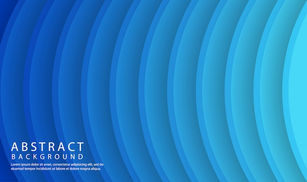 Radial circle gradient abstract background