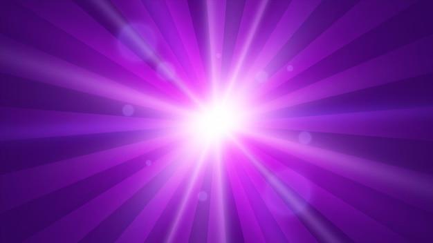 放射状の線。爆発効果。抽象的な星。ベクターイラストeps10