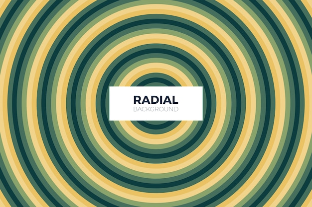 Radial shape abstract background