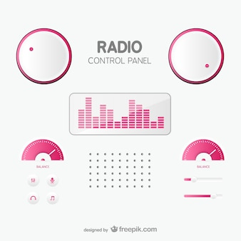 라디오 제어판