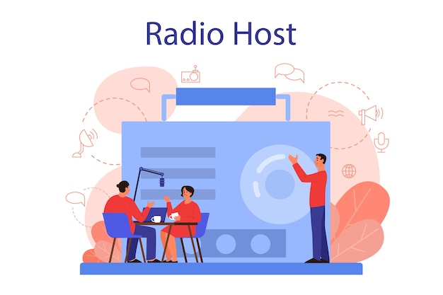 Концепция радиоведущего