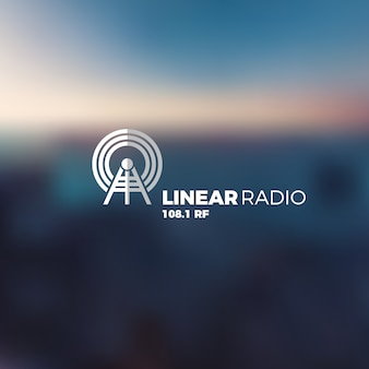 Radio logo design