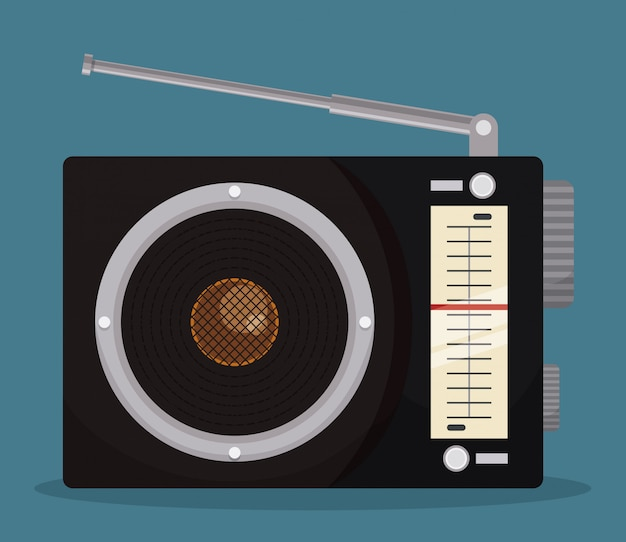 Radio vintage  design.