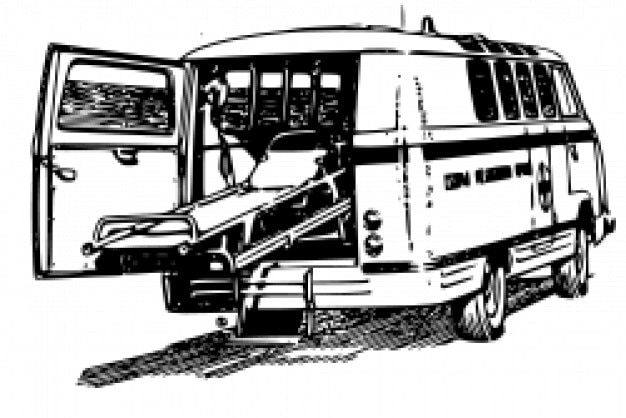 Raf977 ambulance