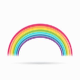 Rainbow. arch spectrum.