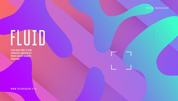 Rainbow background. dynamic layout. horizontal wallpaper. hipster paper. flow landing page. tech liquid shape. blue graphic cover. modern element. violet rainbow background