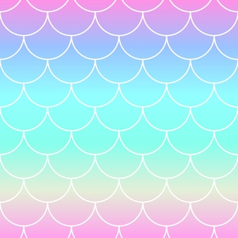 Rainbow background. mermaid scales.