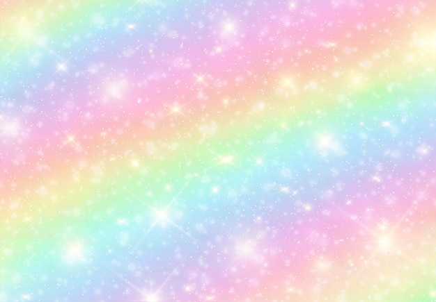 Rainbow bright candy background .