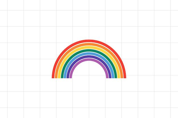 Sfondo orgoglio lgbtq arcobaleno