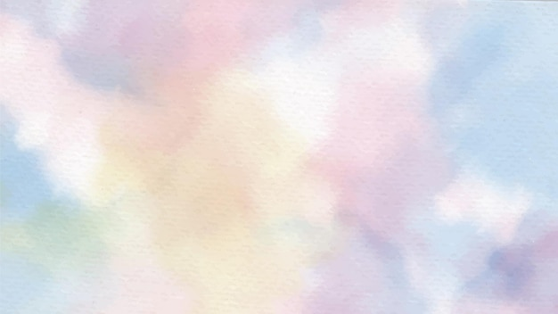 Радуга пастельные единорог конфеты акварель на бумаге абстрактный фон