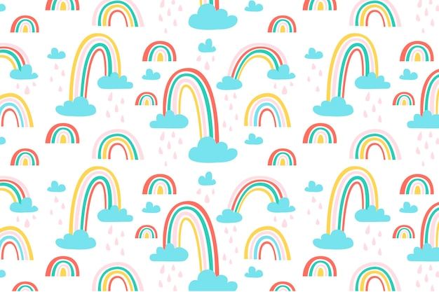 Дизайн радуги