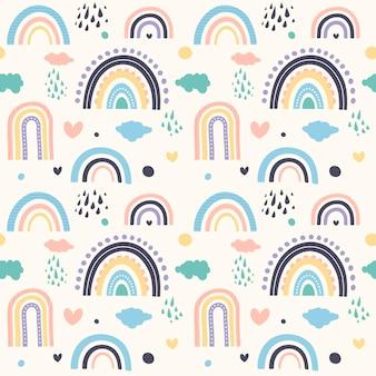 Disegno del modello arcobaleno