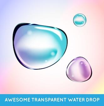 Rainbow soap water bubbles set