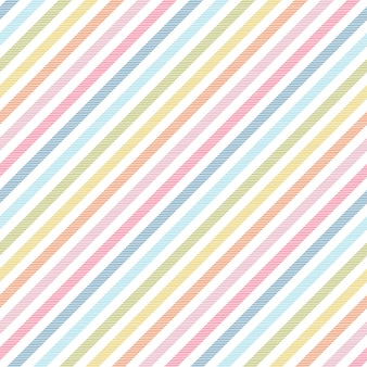Rainbow stripes seamless pattern diagonal texture