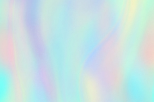 Rainbow texture. hologram foil iridescent background. pastel fantasy unicorn pattern