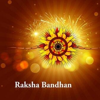 Raksha bandhan bright background