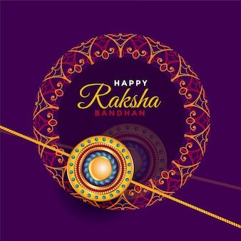 Raksha bandhan brother and sister festival greeting