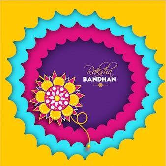 Raksha bandhan celebration concept.