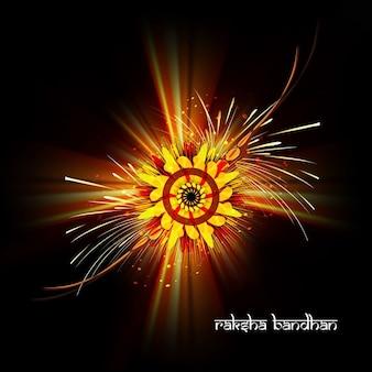 Raksha bandhan dark background