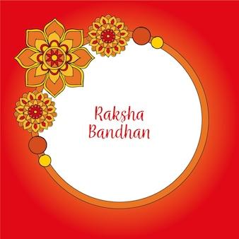 Disegno di raksha bandhan