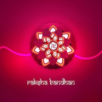 Raksha bandhan fuchsia background