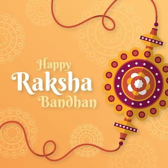 Illustrazione di raksha bandhan