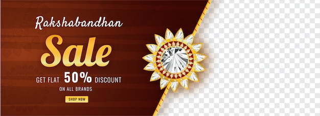 Raksha bandhan sale social media header