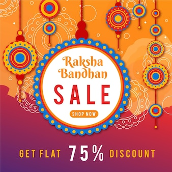Raksha bandhan sales