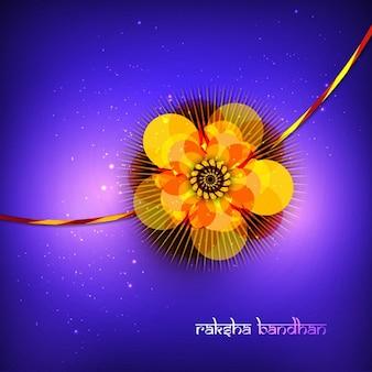 Raksha bandhan violet background