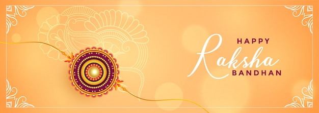 Rakshabandhan festival celebration beautiful banner